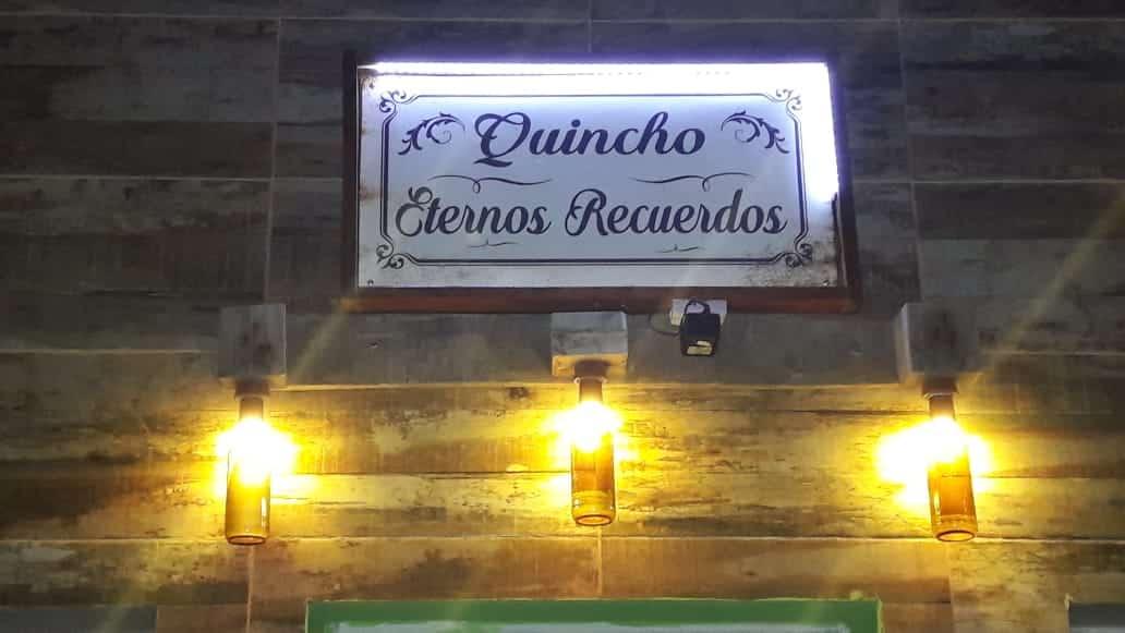 QUINCHO ETERNOS RECUERDOS