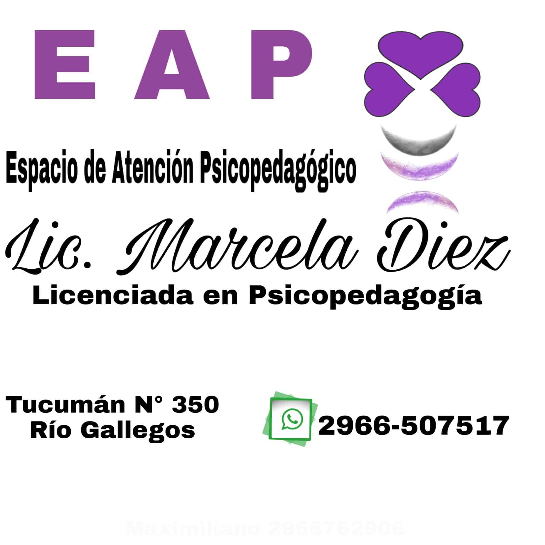 Lic. en Psicopedagogía Marcela Diez