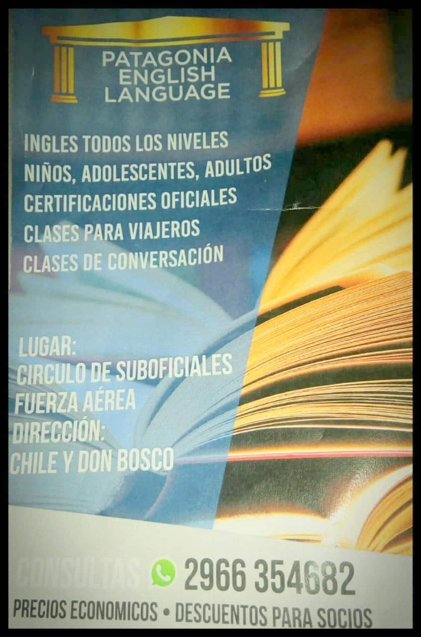 PATAGONIA ENGLISH LANGUAGE