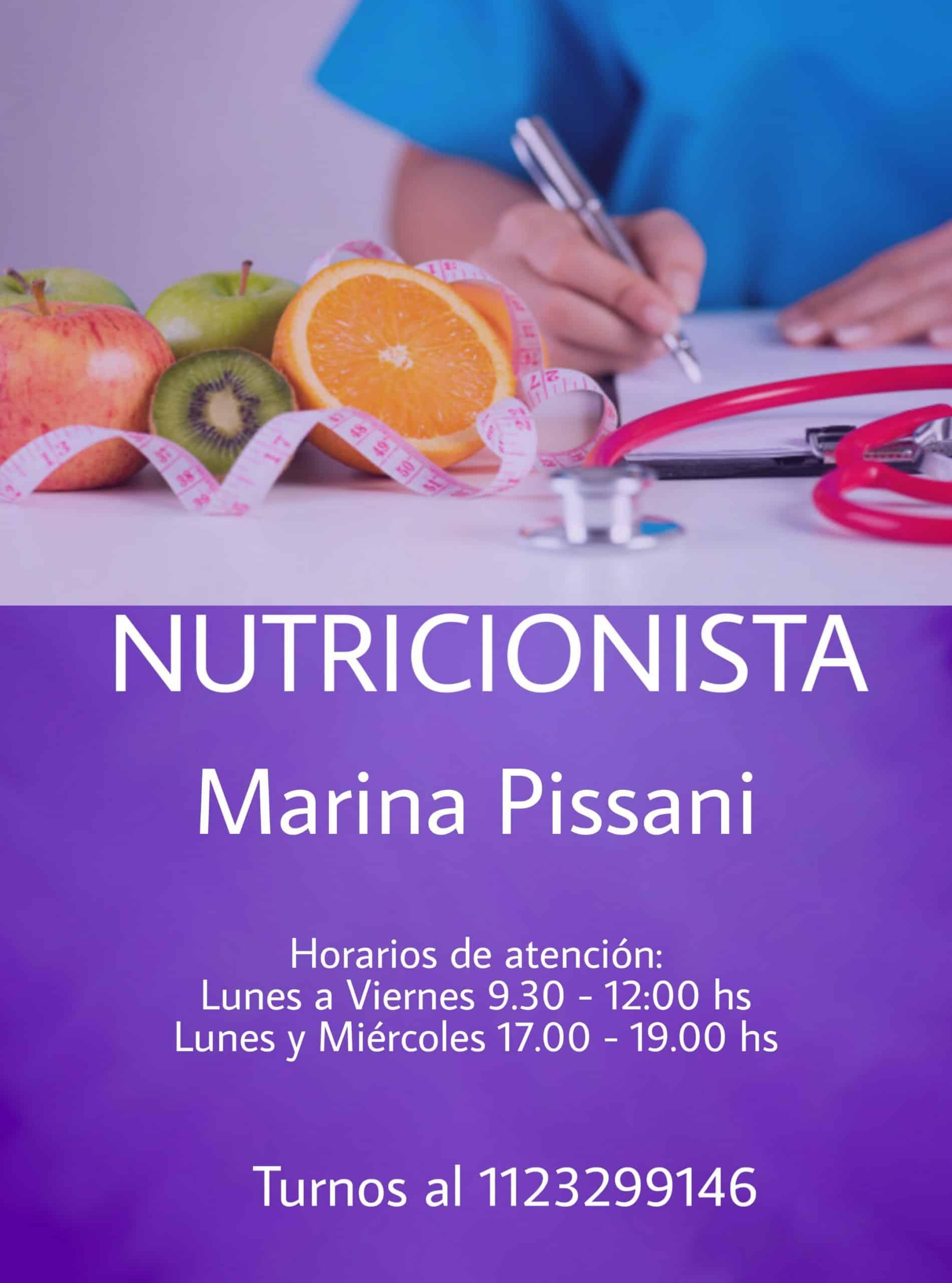 Marina Pissani Nutricionista