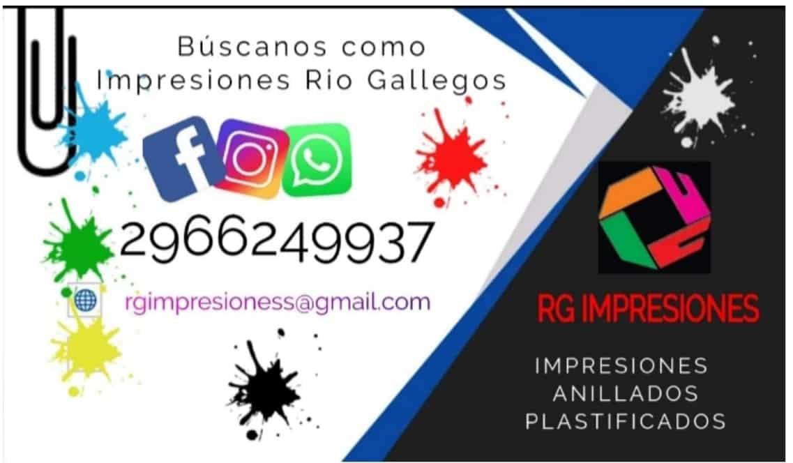 IMPRESIONES RIO GALLEGOS