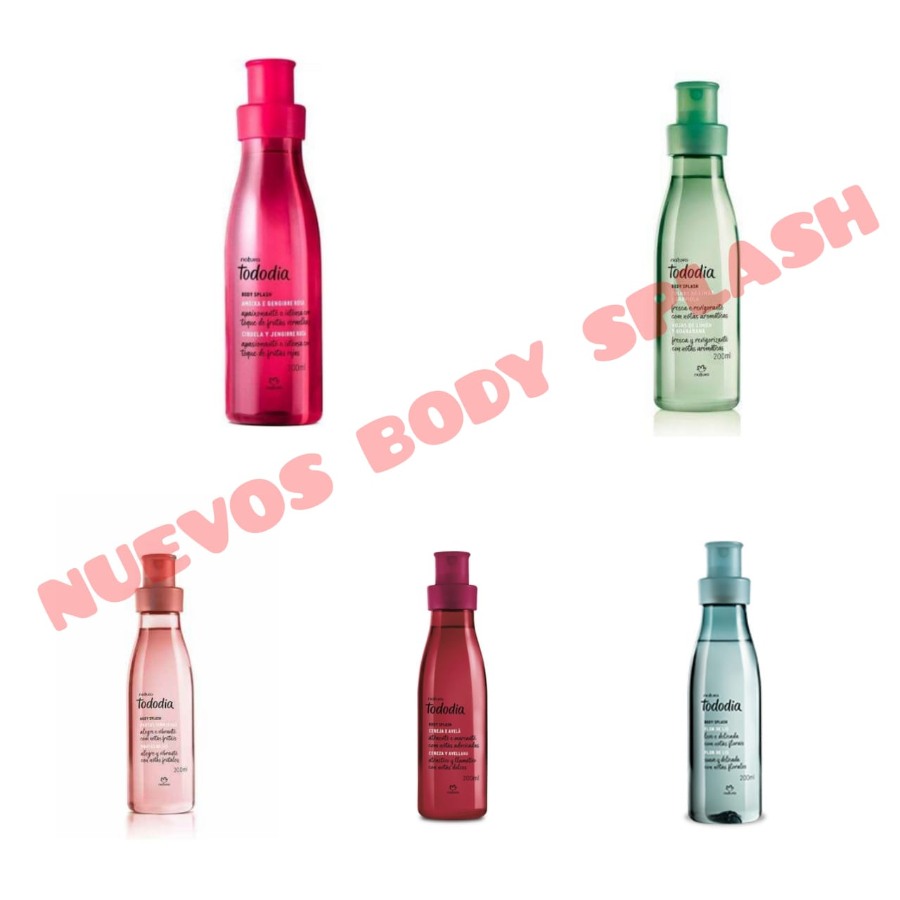 Body Splash Natura