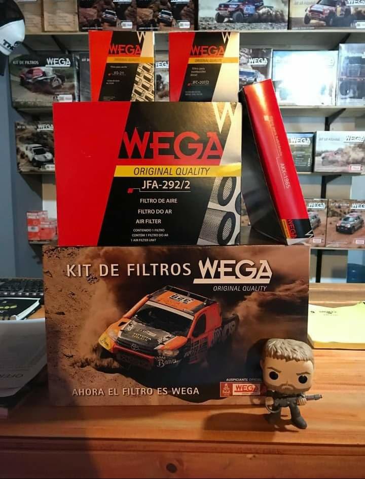 Kit de filtros Wega
