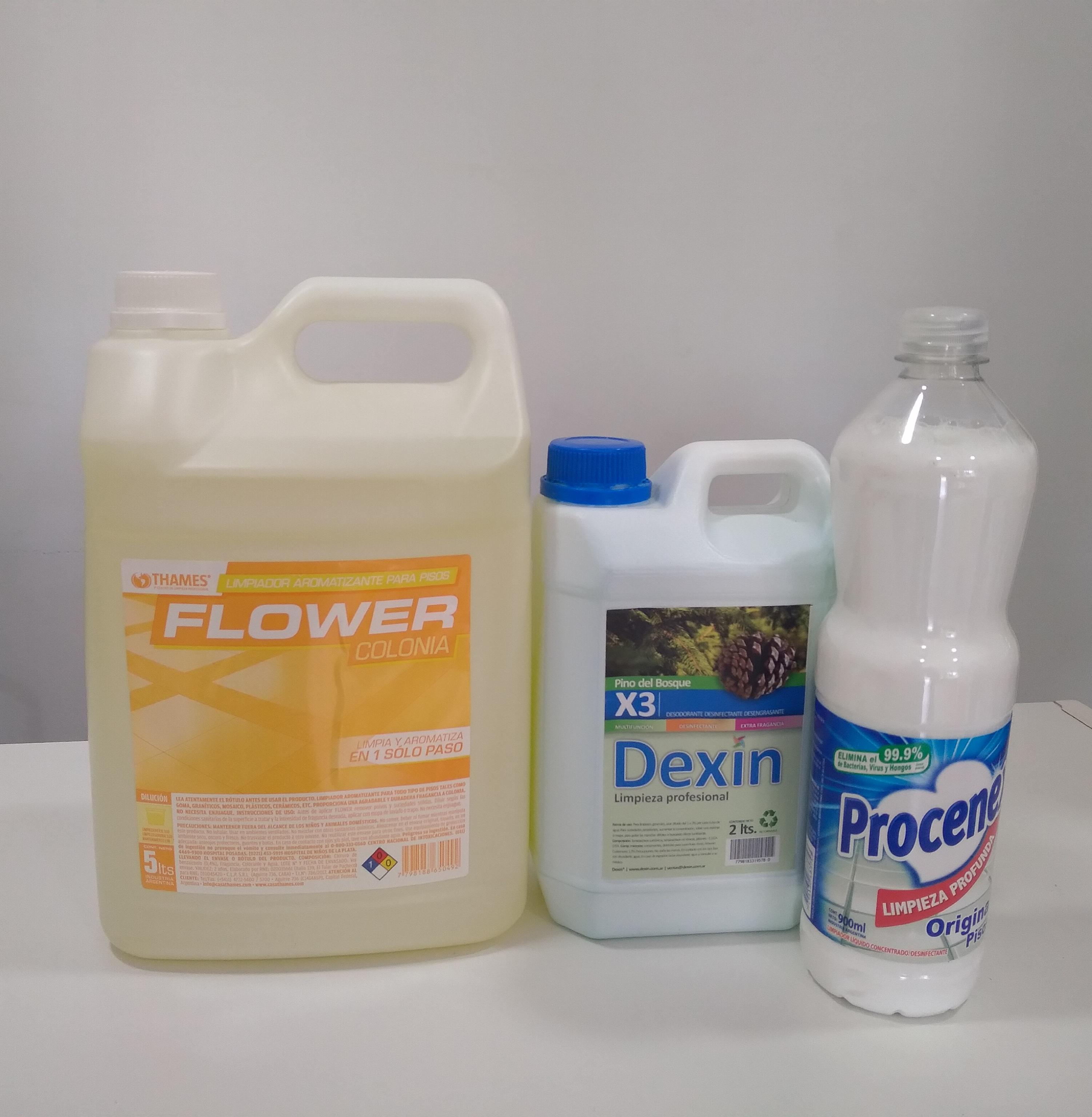 Desinfectante para pisos