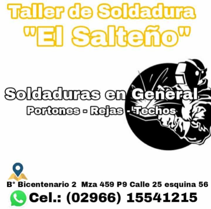 TALLER DE SOLDADURA EL SALTEÑO