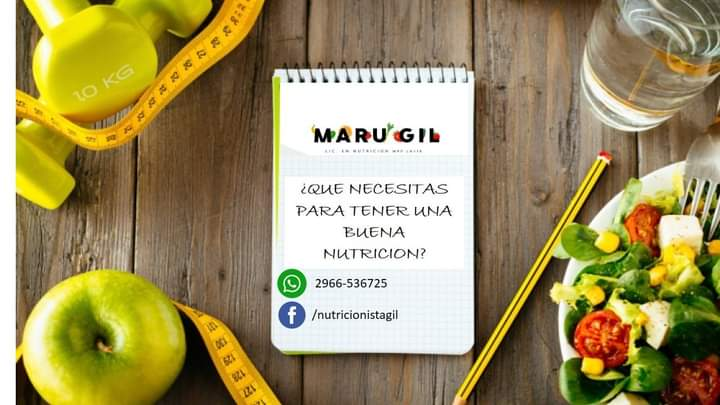 Nutricionista Maru Gil