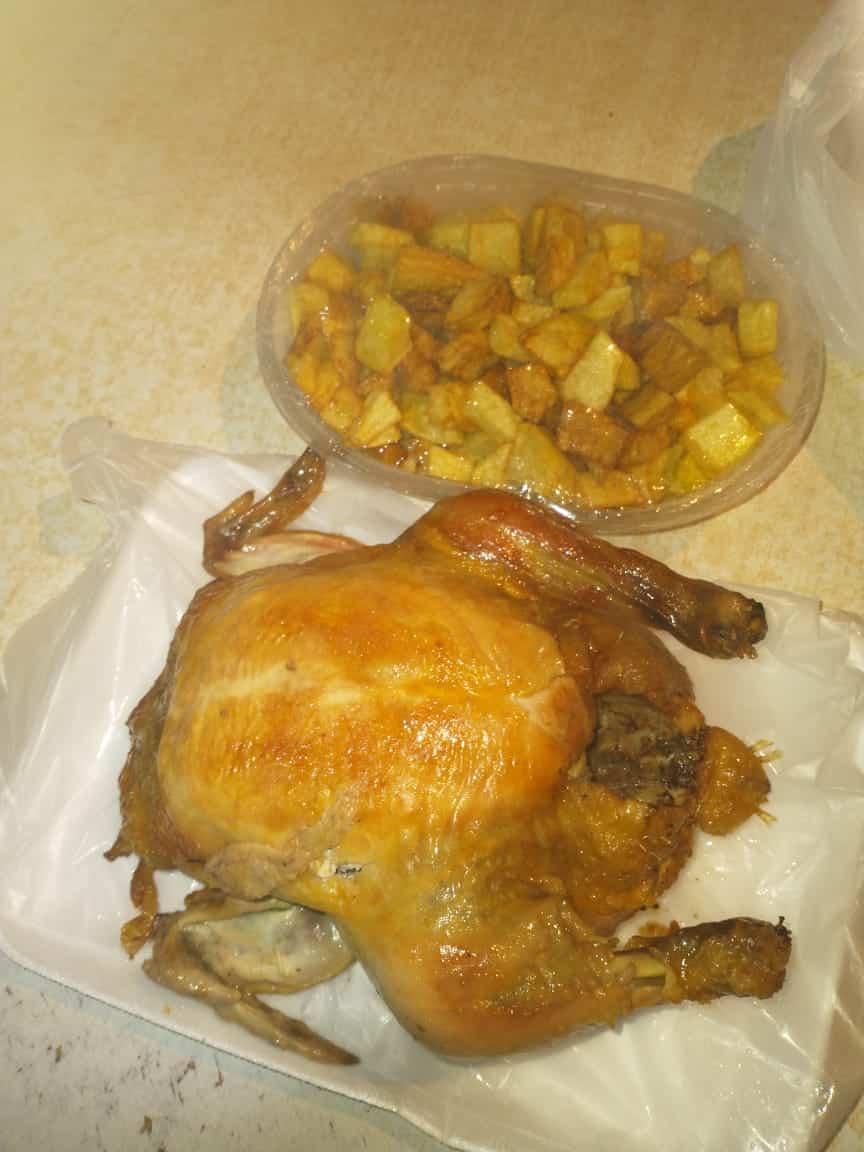 Pollo a la parilla
