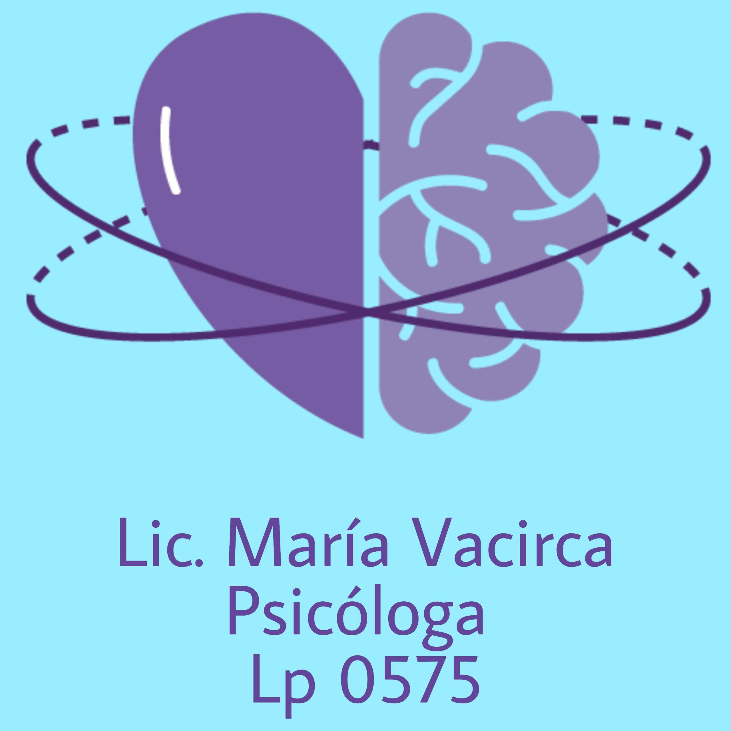 Lic. María Vacirca – Psicologa