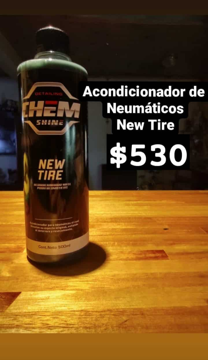 Acondicionador de Neumáticos