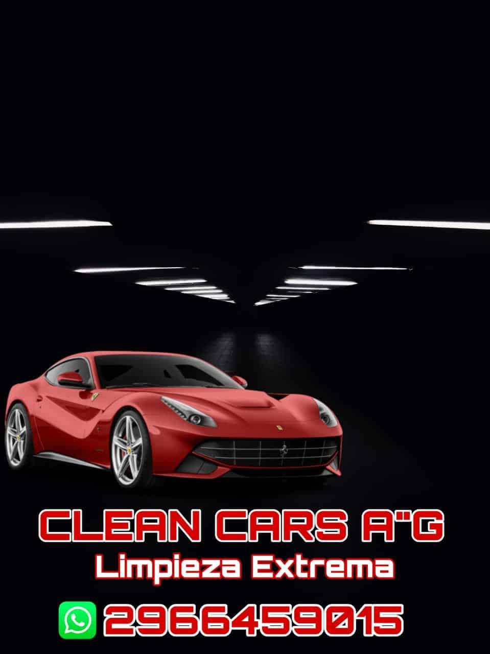 """Clean cars A""""G"""