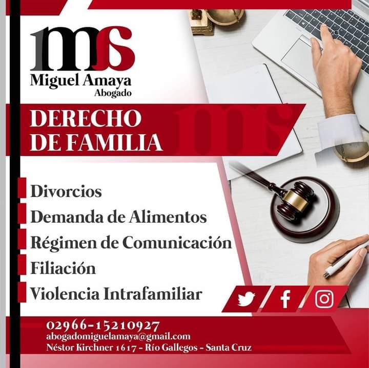 Estudio Jurídico  —  Dr. Miguel Amaya