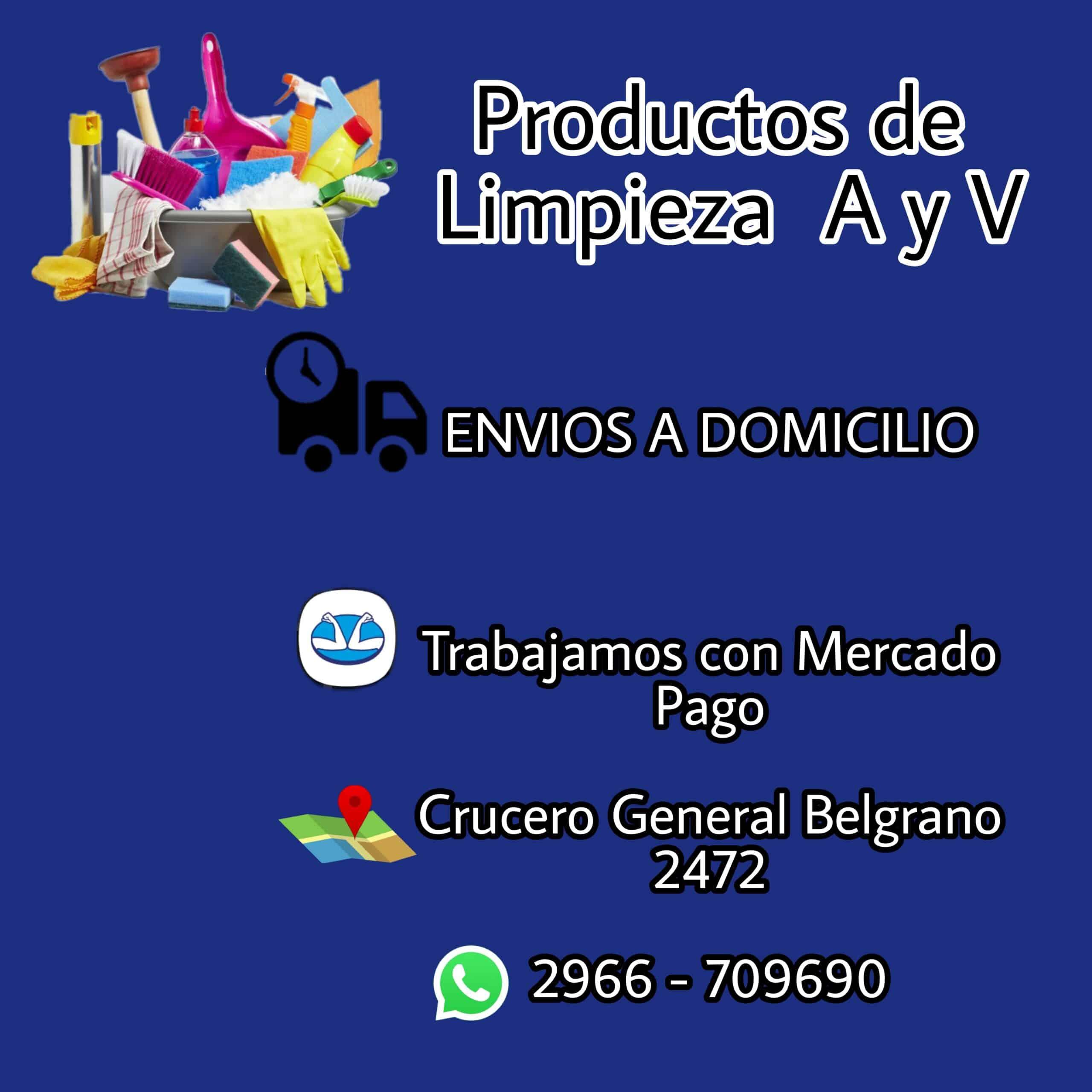 PRODUCTOS DE LIMPIEZA AyV